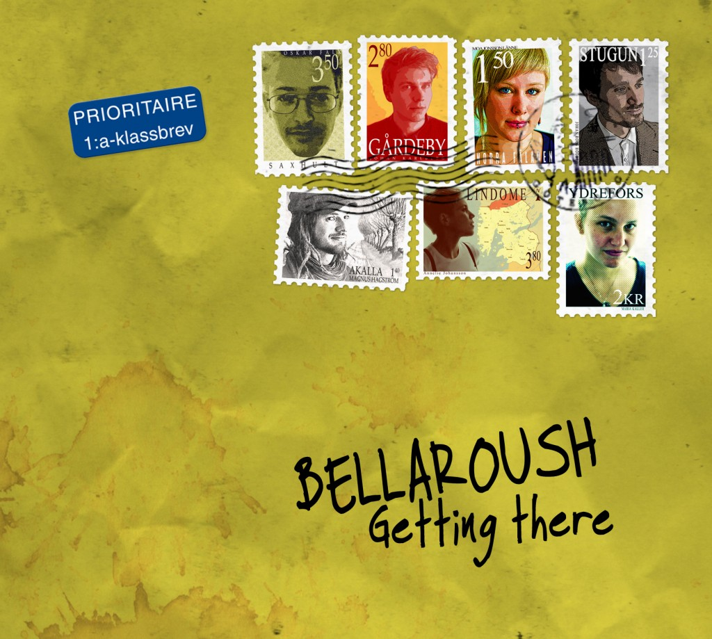 Bellaroush - Getting There (front cover)